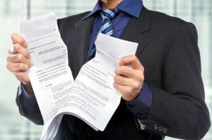 расторжение и изменения кредитного договора